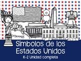 Símbolos de los Estados Unidos de América en Español