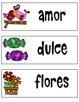Unidad de San Valentín (Valentine's Day Unit SPANISH)