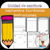September Writing Unit (Spanish Version)