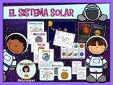El Sistema Solar - Spanish Solar System Unit