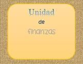 Unidad de finanzas