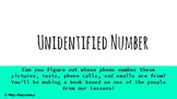 Unidentified Number