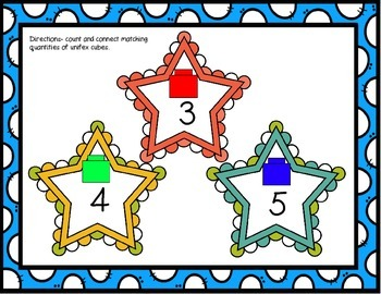 Linking Cube Counting Mats