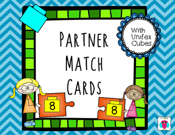 Linking Cube Partner Match Cards