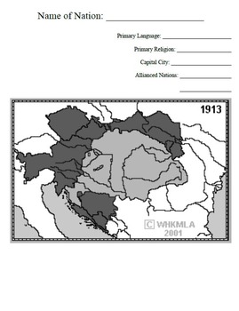 Unification Puzzles Activity World History