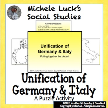 Unification Puzzles Powerpoint Class Activity