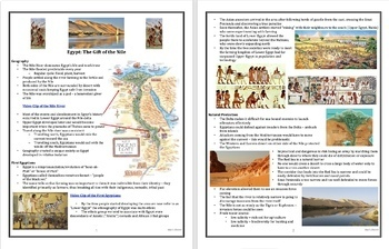 Ancient Egypt: Unification of Upper and Lower Egypt