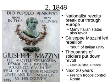 Unification of Italy - 23.2 Powerpoint - Nationalism