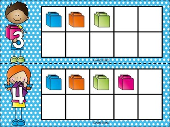 Unifix Cube 10 Frames