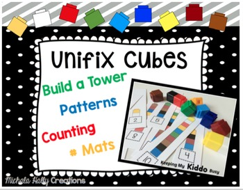 Unifix Cube Activities - Number Rods - Counting Towers - Patterns