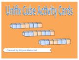 Unifix Cube Activity Cards