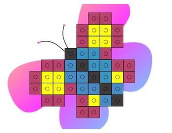 Unifix Cube Building Mats