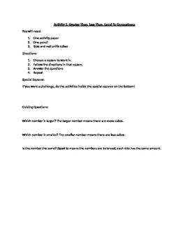 Unifix Cube Centers/Stations Manipulative Kit