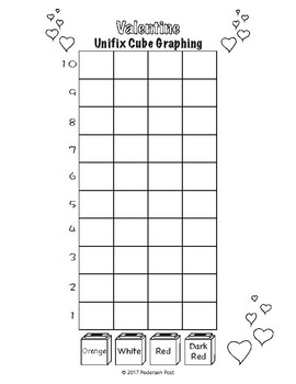 Unifix Cube Graphs with Common Core Questions - One Theme for Each Month