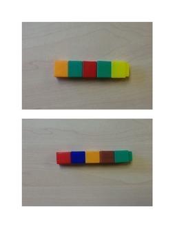 Unifix Cube Matching