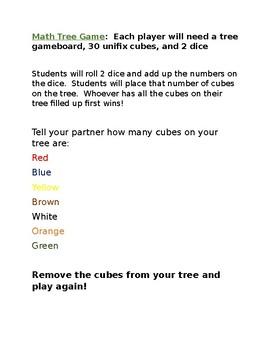 Unifix Cube Math