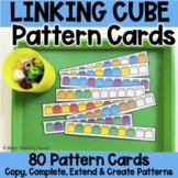Unifix Cube or Snap Cube Pattern Cards