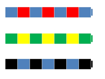 Unifix Cube Patterns