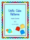 Unifix Cube Patterns Math Center