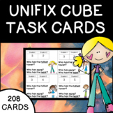 Unifix Cube Task Cards Talk Cards Measurement Counting Cardinality