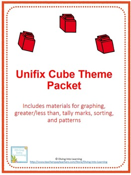 Unifix Cube Unit- graphing, sorting and patterns