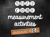 Cube Measuring Objects Worksheet