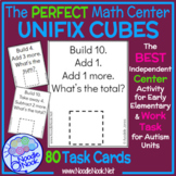 Unifix Cubes Addition and Subtraction SUPER BUNDLE Task Cards