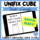 Unifix Cubes Addition and Subtraction Task Cards for Centers
