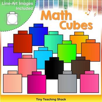 Math Cubes Clip Art