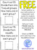 Unifix Cubes- Multiplication and Division Task Cards