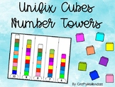 Unifix Cubes Number Towers