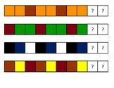 Unifix Cubes Pattern Guides