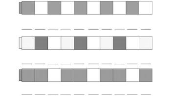 Unifix Cubes Patterns