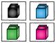 {FREEBIE} Unifix Cubes. Sort by Color. Math Center. Sorting