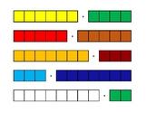 Unifix Cubes adding to 10