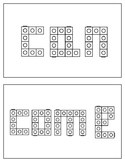 Unifix/Snap Cube Word Cards: Pack 2