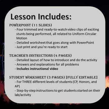 Uniform Circular Motion Interactive Video Lab