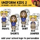 School Uniform Clipart 2