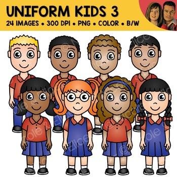 School Uniform Clipart 3