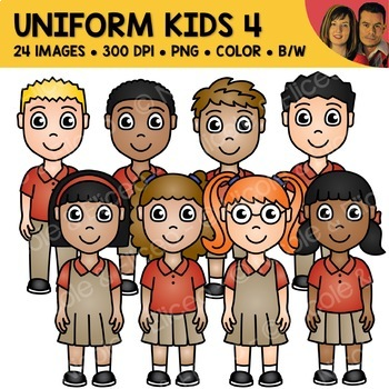 School Uniform Clipart 4
