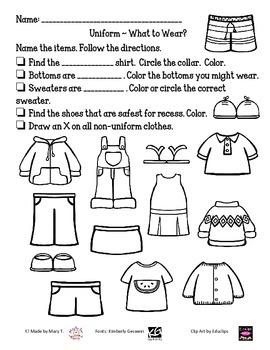 Uniform: What Do I Wear?