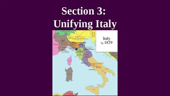 Unifying Italy PowerPoint