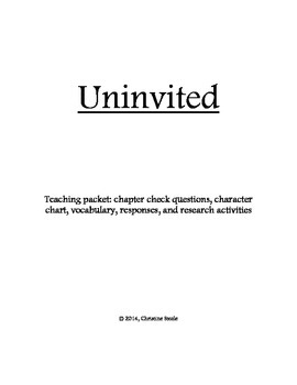 Uninvited teaching packet