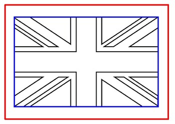 Map Of Uk Template.Union Jack Uk Map Template
