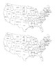 Union and Confederacy Map Activity