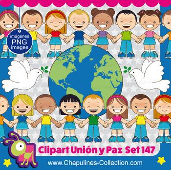 Union and Peace Clipart - Clipart de Unión y Paz Set 147