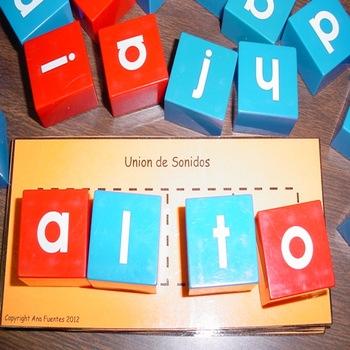 Union de Sonidos - Using Manipulatives