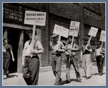 Unions & Labor in the US Powerpoint