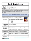 "Unique ""Basic Proficiency"" US History 8 Modified Curriculum Outline"
