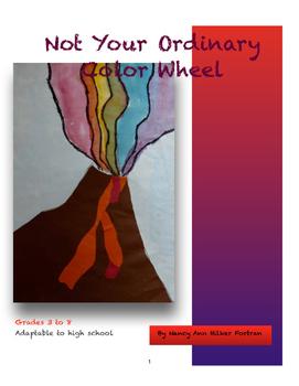 Unique Color Wheel - Visual Arts Lesson - 1st - 8th Grade
